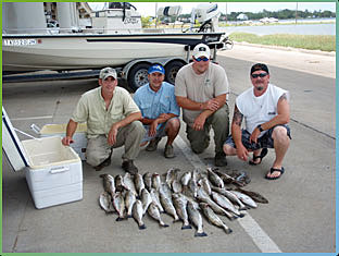 Galveston Bay Fishing Trip